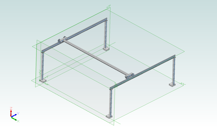 Diy gantry crane page 2 for Shop hoist plans